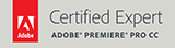 Certified Expert Adobe Premiere Pro CC