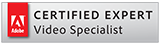 Adobe Certified Expert Video Specialist